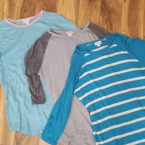 Bundle of 3 Randy tops
